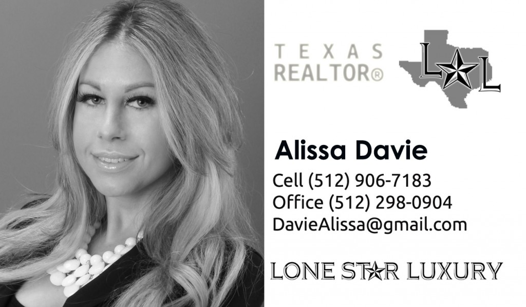 Texas Realtor Alissa Davie Lone Star Luxury