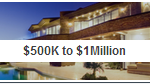 500k to 1Million price range homes in Austin