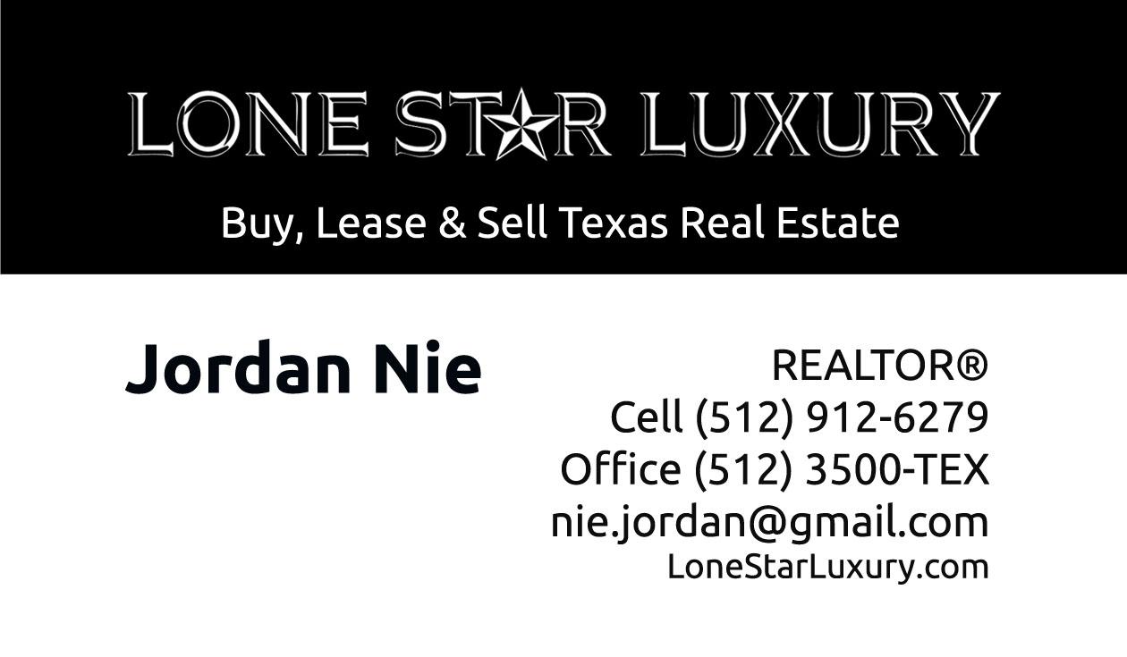 Jordan Nie Lone Star Luxury