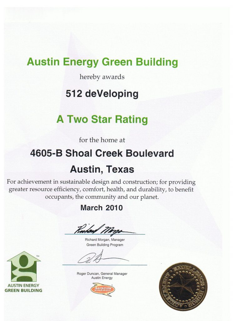 important green building certificate