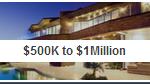 500k to 1Million price range homes in Austin